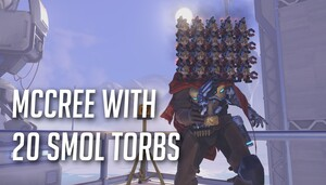 Mccree with 20 Smol Torbs