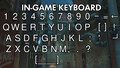 An In-Game Keyboard